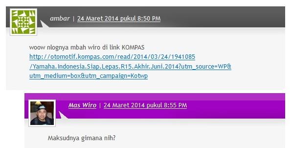 Ini pesan dari komentator :)