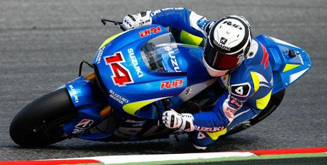 Randy de Puniet dengan Suzuki motoGP