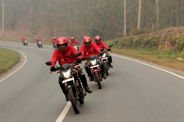 Tim Ekspedisi Nisantara Honda Sport AHM 3