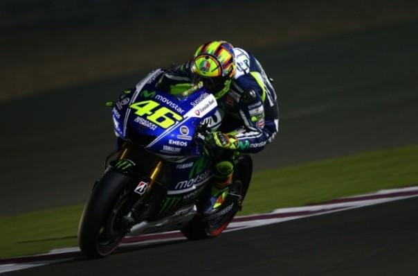 Valentino Rossi Podium Kedua Losail Qatar 2014