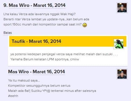 Wiro nyobamoto and Taufik TMCBlog