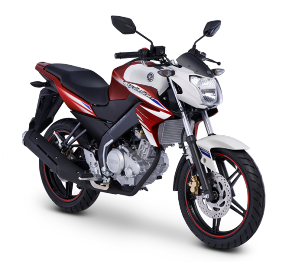 Yamaha New V-Ixion Red Lightning