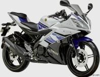 Yamaha YZF R15 White Blue