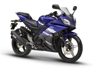 Yamaha YZF R15 Blue