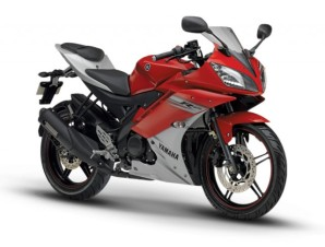 Yamaha YZF R15 Red White