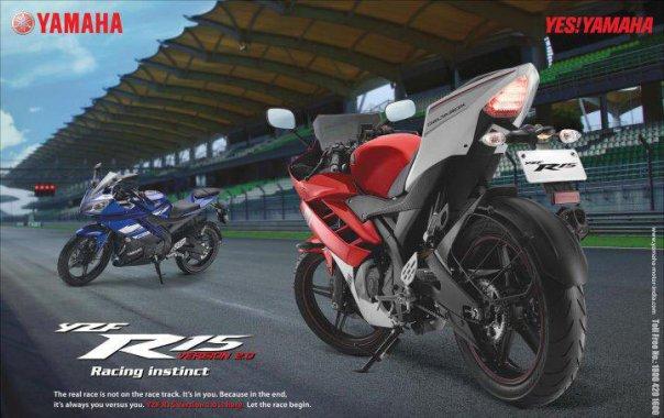 Yamaha YZF R15_di Sepang
