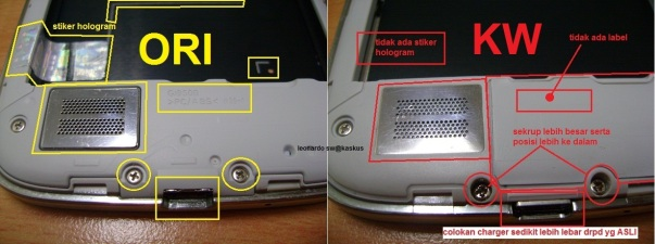 Asli Palsu_Samsung S4-No Bodi dan colokan charge
