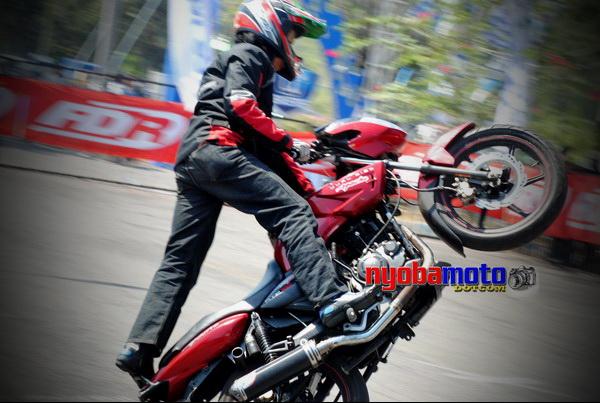 TVS Apache_Freestyle@ U Mild Fasttrack Juanda Lama