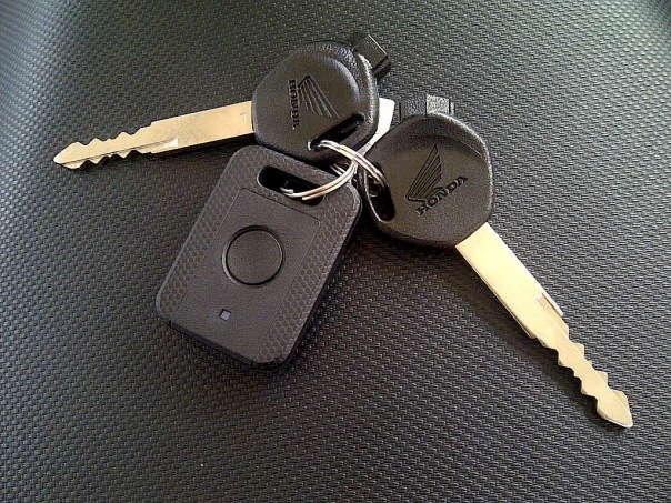 Kunci plus Remote ABS Honda Vario 110 FI