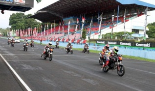 OMR CB150R di Sentul International Circuit