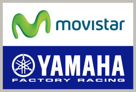 Logo Movistar dan Yamaha