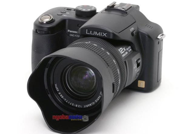 Panasonic Lumix  DMC FZ50_tampak depan