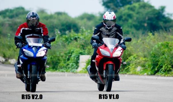 R15 V2 versus R15 V1 Terlihat kan bedanya :D