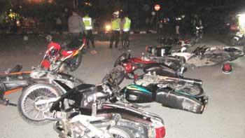Peserta Balap Liar (ditangkap Polisi)