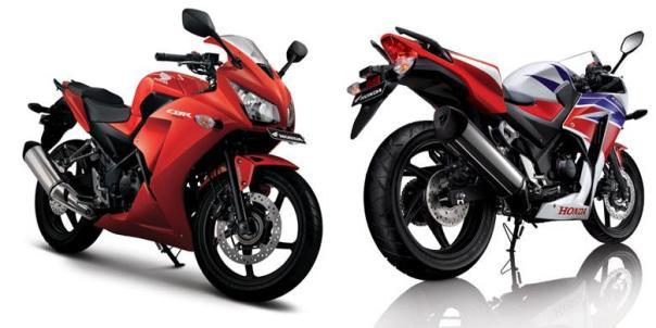 2 varian warna CBR250R 2014