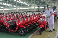 New Honda Scoopy SIap Distribusi