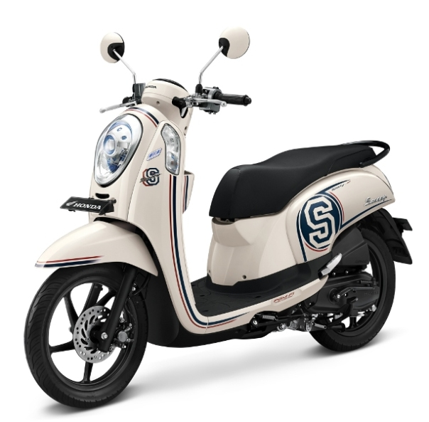 New Honda Scoopy FI White