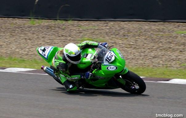 Kawasaki ZX6 lap time tercepat