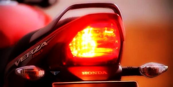 Tail Lamp yang sama  Antara Megapro Lawas dan Verza