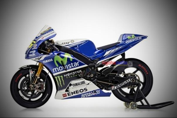 Yamaha YZF M1 Valentino Rossi