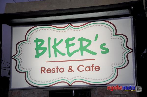Biker's Cafe 01_Papan Nama