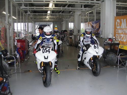 Sudarmono dan Sigit PD dalam persiapan menghadapi Suzuka 4 Hours Endurance Race (2)