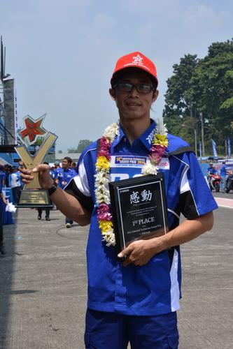 Asep Sumpena Suryaningrat - Juara Indonesia Technician Grand Prix ke-14 tahun 2014