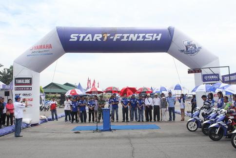 Management Yamaha Indonesia di opening seri 4 Yamaha Cup Race di Medan (2)