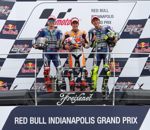 Podium - MotoGP Indianapolis 2014 -