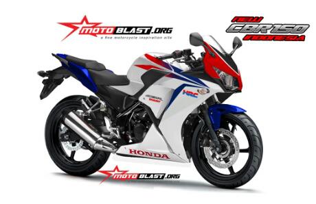 Honda CBR150R Dual Keen-versi Motoblast