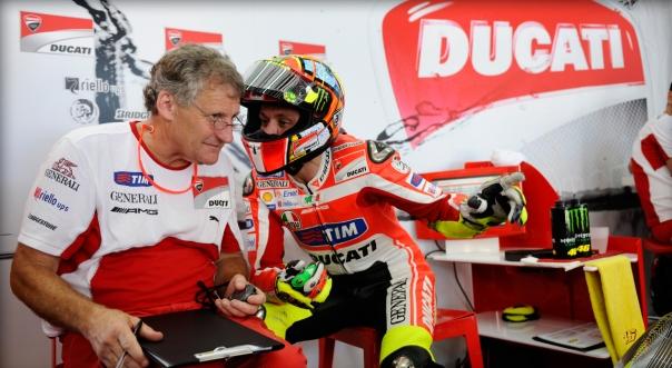 Saat Burgess dan Rossi mesra, di Honda, Yamaha, Ducati