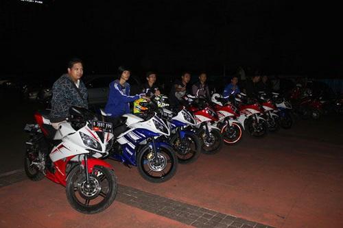 Kopdar R15 Club Indonesia di Senayan Jakarta