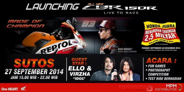 Launching CBR150R Dual Keen_di Sutos
