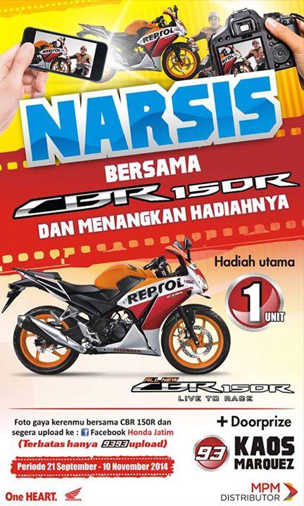 Yuk Narsis bersama SBR150R