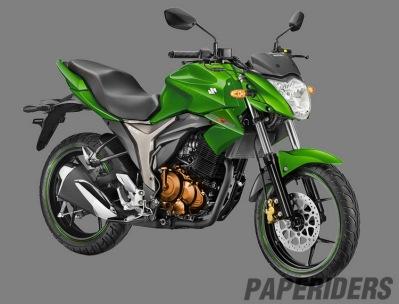 Suzuki Gixxer155_Green
