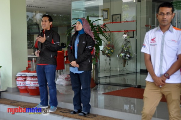 Mr. M Bondan P, Mrs. Istiyani &  Mr. Dimas