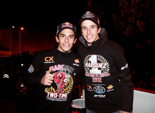 Alex dan Marc-Calon Jawara