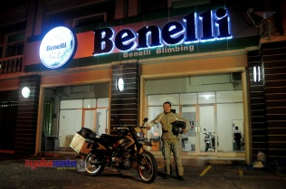 Benelli Python_3 with Mario Iroth