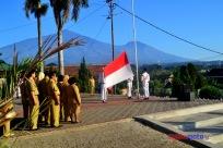 Ilustrasi Upacara Bendera 2