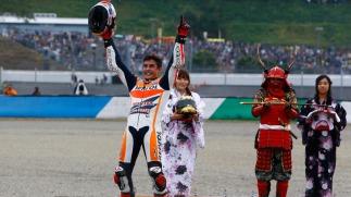 Marc Marquez Juara Dunia 2014_1 bersama Samurai