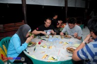 Semalam di Papuma Gala Diner Fun Game Ice Breaking 08