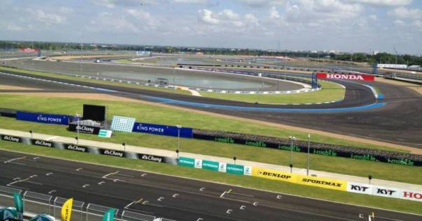 Chang International Circuit di Buriram Thailand