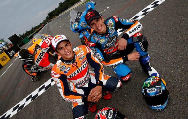 Duo Marquez... Kemenangan sempurna kakak dan adik