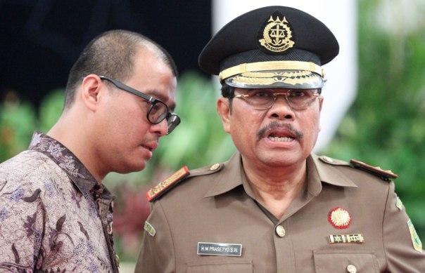 H.M. Prasetyo Jaksa Agung Pilihan Jokowi dari Partai Nasdem