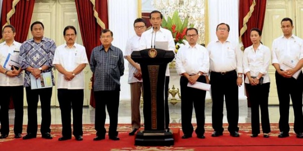 Presiden Jokowi Menyampaikan Kenaikan Harga BBM