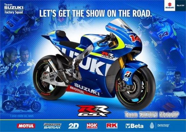 Suzuki GSX-RR motoGP