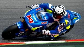 Randy de Puniet sekedar njajal Suzuki GSX-RR