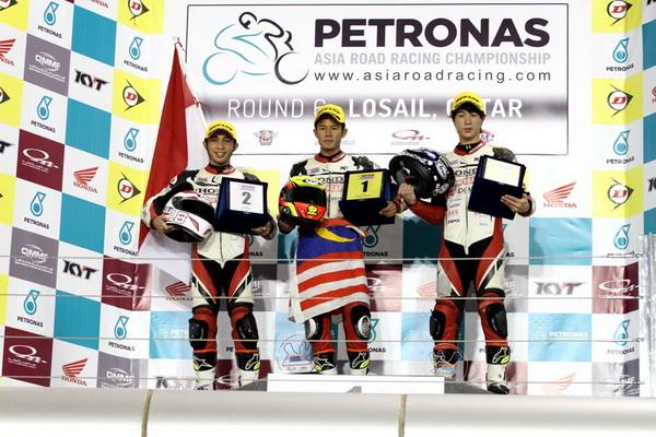 Pebalap muda binaan AHM, Aditya Pangestu Hanafi berhasil mengakhiri keseluruhan seri Asia Dream Cup (ADC) 2014 dengan menempati posisi runner up. Posisi runner up puncak klasemen ADC 2014 diraih Aditya Pangestu Hanafi setelah 7 kali menaiki podium pada 6 seri penyelenggaraan kejuaraan tingkat Asia ini, termasuk dalam seri terakhir di Losail International Circuit, Doha, Qatar.
