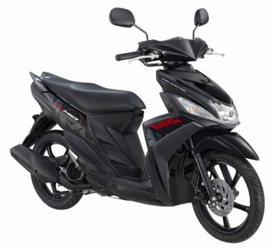 New Mio M3 125 Mention Black