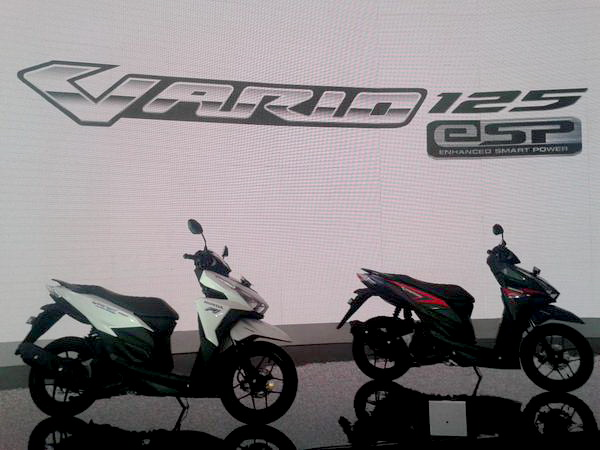 Honda Vario 150 launching